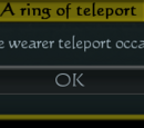 Ring of Teleport