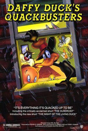 DaffyDucksQuackbusters Poster