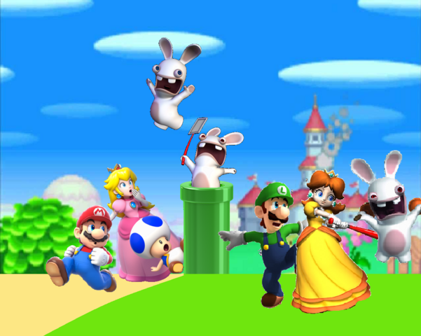 File:Rabbids invade the mushroom kingdom by wesleyabram-d7qmwho.png