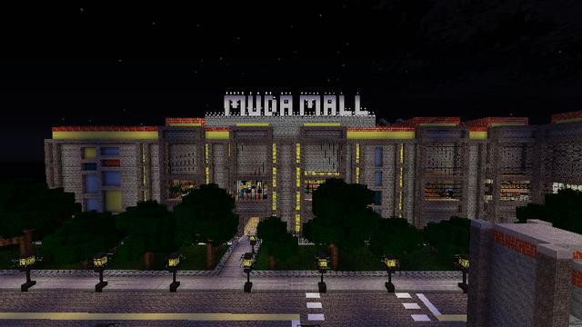 File:Muda Mall at night.png
