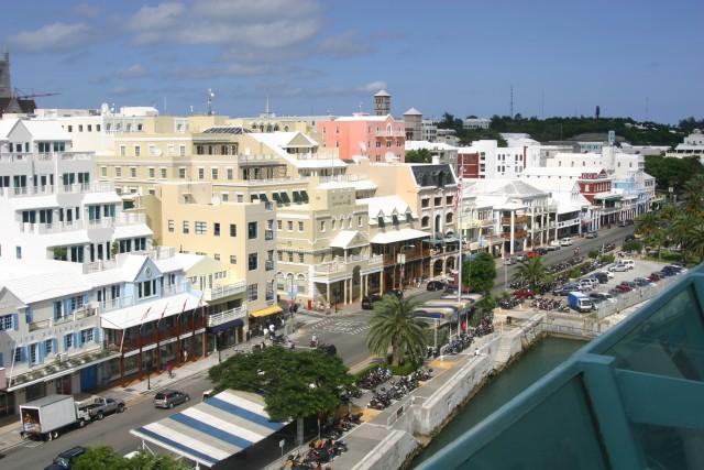 File:Front Street Hamilton Bermuda.jpg