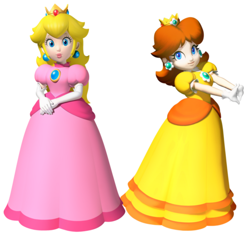 File:Peach and daisy by legend tony980-d4p43h3.png