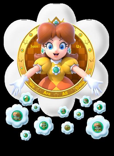 We are daisy logo 3 by daisypotential-dagbd84