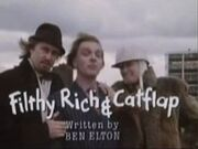 Filthy Rich & Catflap title card