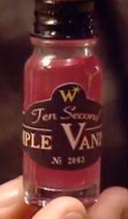 Ten second pimple vanisher
