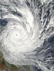 220px-Cyclone Yasi 2 February 2011 approaching Queensland
