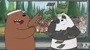 We bare bears grizzly x panda by colorcollision123-d8zjuxj