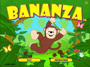 Bananza Title Page