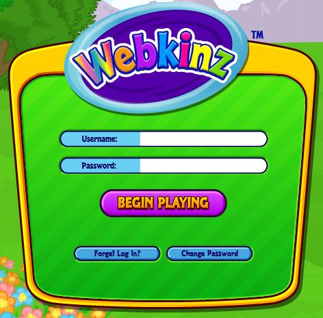 Webkinz log in 2015