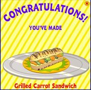 Grilled carrot