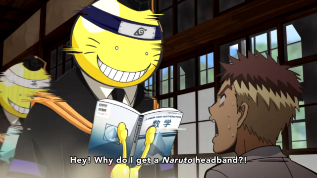 https://vignette4.wikia.nocookie.net/weeky-shonen-jump/images/c/ce/Korosensei_with_Naruto_headband.png/revision/latest/scale-to-width-down/640?cb=20170116211924
