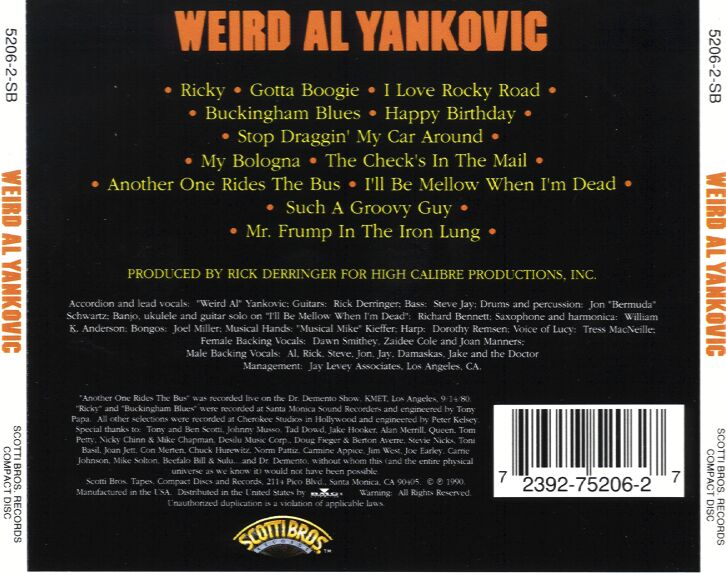 Weirdalyankovic-case