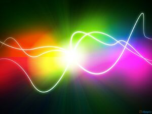Abstract colorful lights 1600x1200
