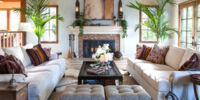 De Angelis House/Living Room