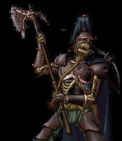 Death knight portrait
