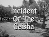Incident of the Geisha