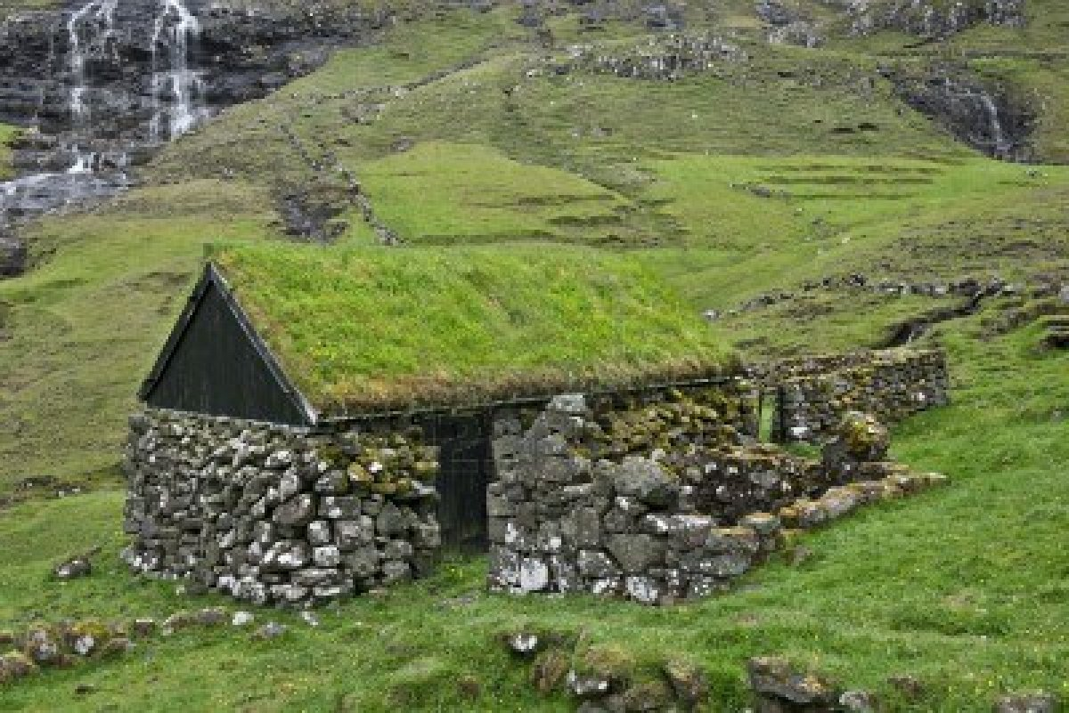 Image 11651947 Old Stone House In Faroe