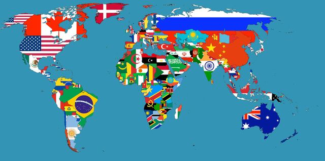 File:World with flags.jpg