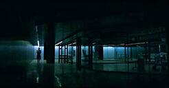 Behavior lab at night