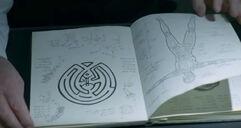 Maze in journal