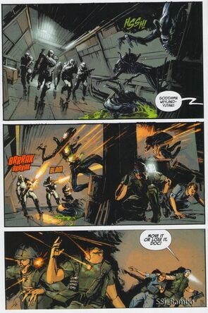 Aliens Colonial Marines comic1
