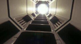 Stairs alien isolation