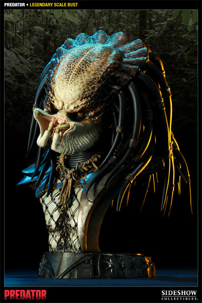Predator Legendary Scale Busts unmasked