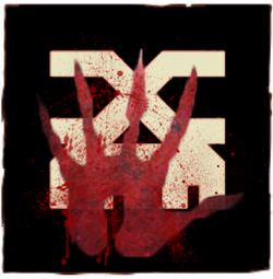 Bloodied Hand Icon