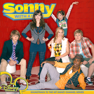 Various Artist - Sonny With A Chance Soundtrack (FanMade Album Cover) Made by Zach