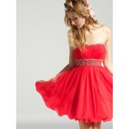 Cute-cheap-short-custom-red-prom-dresses-strapless-for-2013
