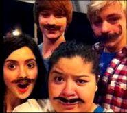 Mustache Alert!