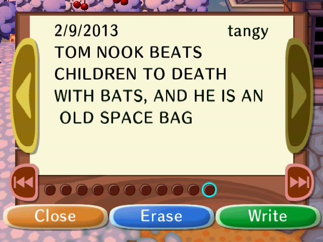 File:TOM NOOK BEATS CHILDREN TO DEATH WITH BATS AND HE IS AN OLD SPACE BAG.JPG