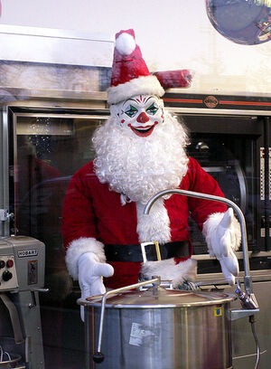 Come Here My Little Pretty. Want To Be Part of Santa's Christmas Stew?