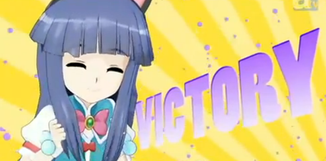 File:Higurashi no Naku Koro ni Kira's 'Magical Girl' Promo Victory.PNG