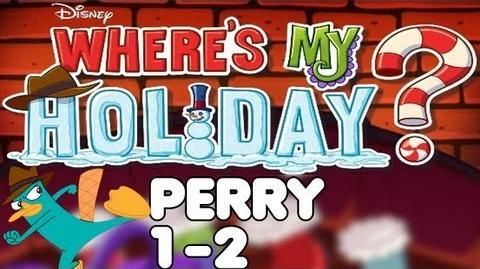 Where's My Holiday? - Level 1-2 - Perry Walkthrough-0