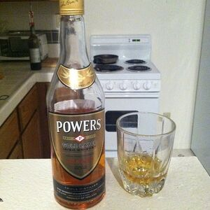 Powers Gold Label whiskey