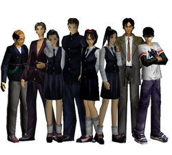 White Day Blood Festival-Cast