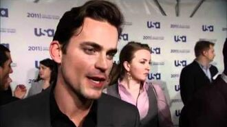 Matt Bomer talks White Collar at USA Upfronts