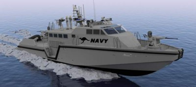 85-foot-long Mark VI patrol boat