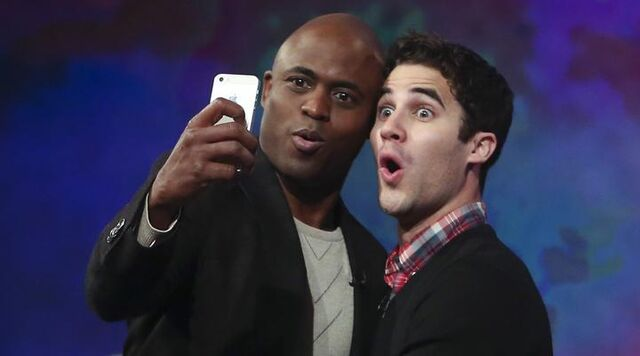 File:Whose Line?- Darren Criss with Wayne Brady.jpg