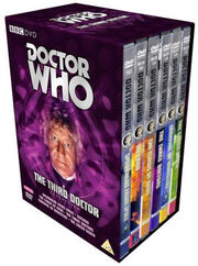 Third doctor collection uk dvd