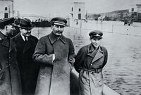 Clark Lenin with Stalin