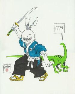 Usagi Yojimbo 01