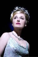 Dianne Pilkington (Glinda) in WICKED photo by Tristram Kenton