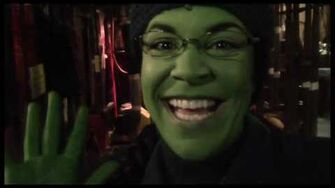 "Fly Girl Backstage at ""Wicked"" with Lindsay Mendez, Episode 7 Bryant Park Fun-0"