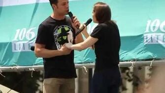 """As Long As You're Mine"" (Christine Dwyer & Justin Guarini) - Broadway in Bryant Park - 2014.07"