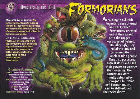 Formorians front