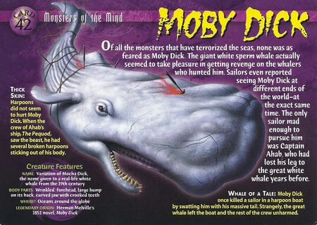 Moby Dick front