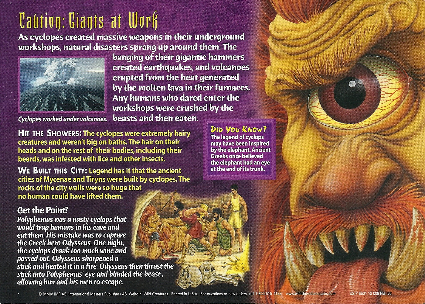 image cyclops back jpg wierd n u0027wild creatures wiki fandom