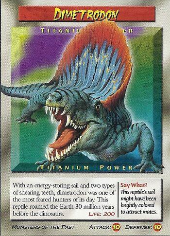 Dimetrodon-Titanium